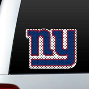 New York Giants Die Cut Window Film [NEW] NFL Sticker Decal Truck Car Cling