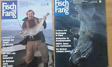 Fisch und Fang von 1986 bis 1987 (8 Fachmagazine)