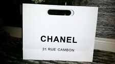 Chanel paper shopping bag