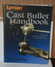 Lyman Cast Bullet Handbook: 4th Edition Book   # 9817004