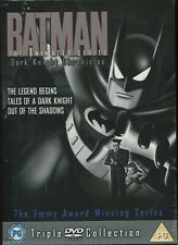 BATMAN - DARK KNIGHT CHRONICLES ANIMATED SERIES - 3 DVD BOXSET NEW SEALED