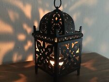 Lanterne Photophore Lampe Marocaine En Fer Forgé H 24 C 10 NEUF style oriental