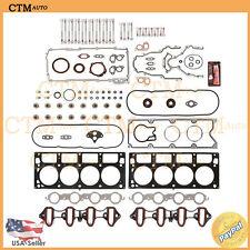 Full Head Gasket Set Bolts Fix For 01-03 Chevy GMC Cadillac Hummer 6.0L V8 MLS