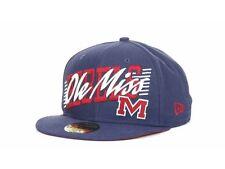 941318b1b82 Mississippi Rebels Ole Miss New Era 59FIFTY Writers Block NCAA Cap Hat