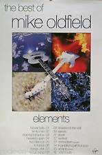MIKE OLDFIELD 1993 BEST OF ELEMENTS PROMO POSTER ORIGINAL