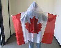 CANADA HOODED CAPE FLAG 3X5 FEET CANADIAN 3'X5' NEW F1062