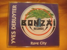 MAXI Single CD YVES DERUYTER Rave City 3TR 1993 BONZAI RECORDS