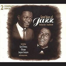Great Voices of Jazz [Box] by Nat King Cole/Tony Bennett (Vocals) (CD,