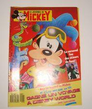 LE JOURNAL DE MICKEY N°1916 11 MARS 1989