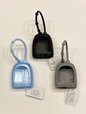 BBW  Set of 3 -  Blue, Gray & Black  POCKET - BAC Soft Loop Holder (Lot # 2J1)