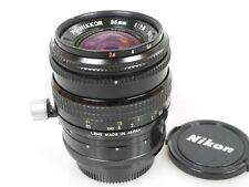 PC-Nikkor 35mm 1:2,8 2,8/35mm Shift shiftobjektiv 35mm f/2, 8 bonito. zustd Nice