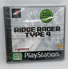 Playstation PS1 RIDGE RACER TYPE 4 - PAL Neuf scellé - NEW FACTORY SEALED