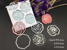 Rose Metal Cutting Dies Scrapbooking Card Paper Album Embossing Decor Craft DIY