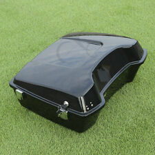 """10.7"""" Chopped Tour Pak Pack Trunk w/ Latch For Harley Touring Street Glide 97-13"""