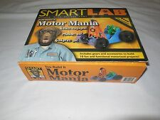 SMART LAB YOU BUILD IT MOTOR MANIA ELECTRONIC SCIENCE EDUCATION GAME BOOK