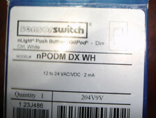 NEW Sensorswitch nPODM DX WH Push Button WallPod Dimmer Ships Today
