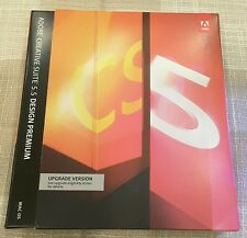 Adobe Creative Suite 5.5 CS5 Design Premium MAC OS Photoshop UPGRADE VERSION