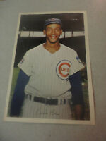 Rare 1960s Chicago Cubs Great Ernie Banks Color Photograph with Autograph