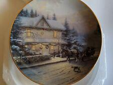 "Beautiful Thomas Kinkade Decorative Plate "" The Best Tradition"" #45"