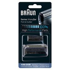Braun Pièce de Rechange 10B/20B Noire pour Rasoir Compatible avec les Rasoirs Cr