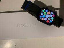 Apple Watch Series 6 44mm Blue Aluminum Case with Deep Navy Sport Band