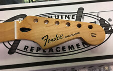 NEW GENUINE FENDER STRATOCASTER MAPLE GUITAR NECK STRAT MEDIUM JUMBO FRETS