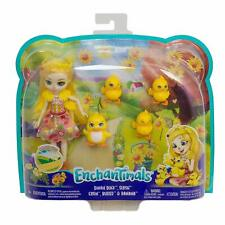 Enchantimals Dinah Duck Doll with Pets - Brand New 2020