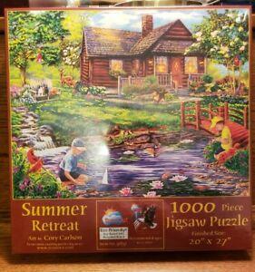 SUNSOUT INC Peaceful Summer 300 pc Jigsaw Puzzle