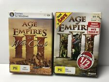 Age of Empires 3 + expansion The War Chiefs complete in box with product keys
