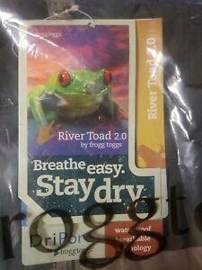 New Frogg Toggs River Toad 2.0 Rain Jacket XXL Gray/Gray