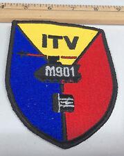 "ITV M901 Military Tank 4"" Jacket Patch Jet Fighter"