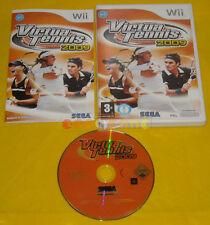 VIRTUA TENNIS 2009 Nintendo Wii Versione Ufficiale Italiana »»»»» COMPLETO