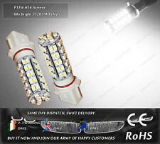 LED SMD P13W PSX26W White Fog Lamps DRL Daytime Running Lights Position Bulbs