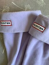 Chicas Hunter Wellie Boot Sock Lila 13-2 Junior