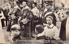 St Ignatius Stamford Hill Hackney outdoor procession 1913 unused old pc