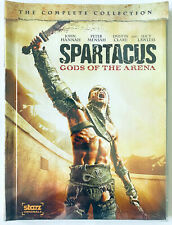 SPARTACUS Gods of the Arena ~ The Complete Collection  2 DVD Set  Canada Edition