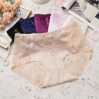 2 4 6 Pcs Lot Women's Sexy Lace Seamless Briefs Panties Laser Cut Underwear,S-XL