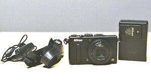 Nikon COOLPIX A 16.2MP Digital Camera DX, APS-C sensor