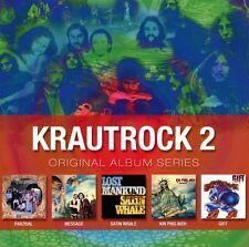 VARIOUS/KRAUTROCK - ORIGINAL ALBUM SERIES VOL.2 5 CD NEW+