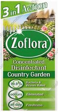 ZOFLORA 1x56ml 3 in 1 ANTIBACTERIAL DISINFECTANT CONCENTRATE - COUNTRY GARDEN