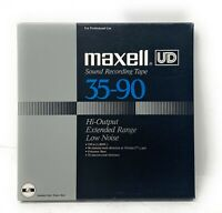 MAXELL UD 35-90 REEL TO REEL TAPES USED