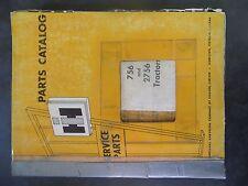 Farmall Ih 756 and 2756 Series Tractors Parts Catalog