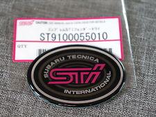 Subaru Impreza STi GC8 Classic Front Wing Fender Badge / Sticker / Emblem JDM