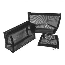 Storage Zipper Makeup Bags Mesh Package Travel Organizer Cosmetic Pouch
