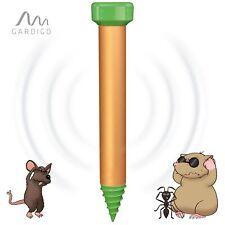 Maulwurfschreck Deluxe mit Erdlochbohrhilfe Maulwurfvertreiber Wühlmausschreck