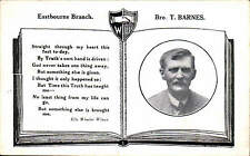Eastbourne Workers' Union. Brother T Barnes. Socialism / Trade Union Interest.