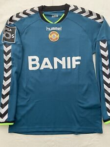 Nacional Madeira Portugal Match Worn Shirt Jersey Maillot #12 Rui Silva Granada
