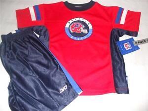 Reebok Buffalo Bills Child Jersey Shirt Shorts M L Halloween Costume Licensed