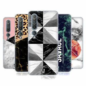 HEAD CASE DESIGNS MARBLE TREND MIX SOFT GEL CASE & WALLPAPER FOR XIAOMI PHONES