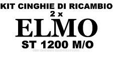 KIT CINGHIE DI RICAMBIO 2 x PROIETTORE SUPER 8 mm ELMO ST 1200 M/O ★